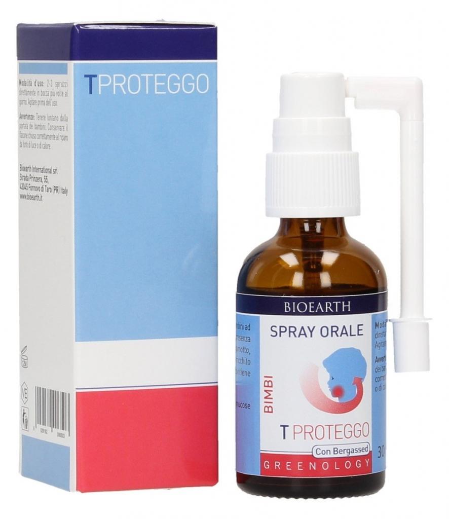 BIOEARTH Ochranný ústní sprej pro děti Objem 30 ml, rozprašovač