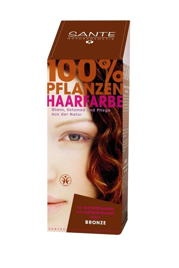 SANTE Rostlinná barva na vlasy Bronz Objem 100 g