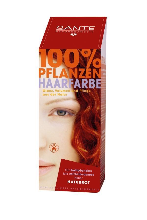 SANTE Rostlinná barva na vlasy Přírodní červená Objem 100 g