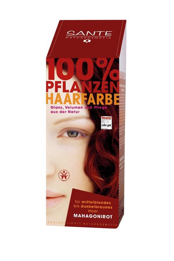SANTE Rostlinná barva na vlasy Mahagon Objem 100 g