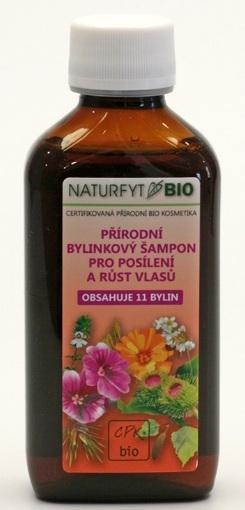 NATURFYT Přírodní BIO šampon 11 bylin pro růst vlasů Objem 200 ml