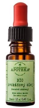 HAVLÍKOVA APOTÉKA BIO Avokádový olej Objem 30 ml