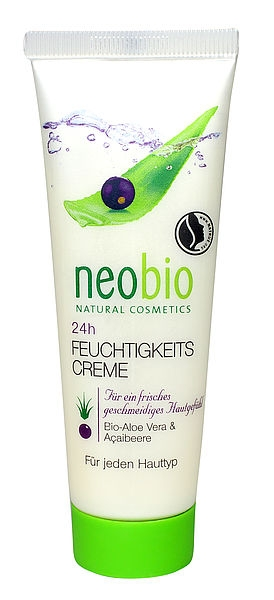 NEOBIO 24 h Hydratační krém Bio-Aloe Vera & Açai Objem 50 ml