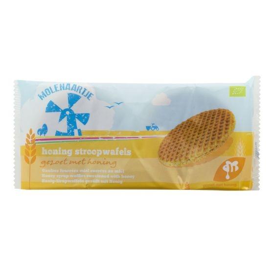 MOLENAARTJE Vafle medové BIO Objem 175 g