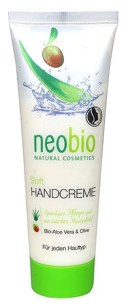 NEOBIO Jemný krém na ruce Bio-Aloe Vera & Oliva Objem 75 ml