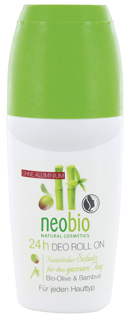 NEOBIO 24h Deo Roll-on Bio-Oliva & Bambus Objem 50 ml, roll-on