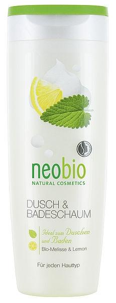 NEOBIO Pěna do koupele & Sprchový gel Bio Meduňka & Citron Objem 250 ml