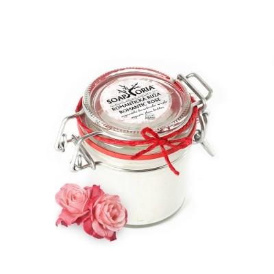 SOAPHORIA Romantická růže - Bambucké máslo Objem 125 ml