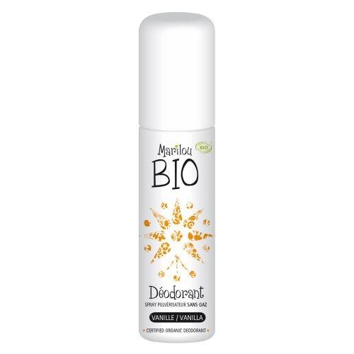 MARILOU BIO Přírodní deodorant Bio Vanilka Objem 75 ml