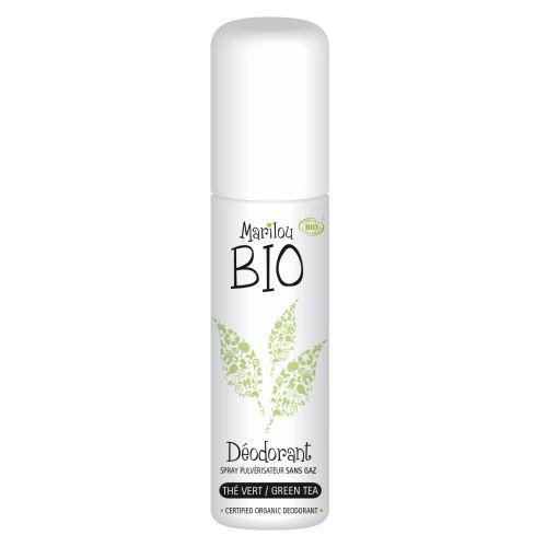 MARILOU BIO Přírodní deodorant Bio Zelený čaj Objem 75 ml