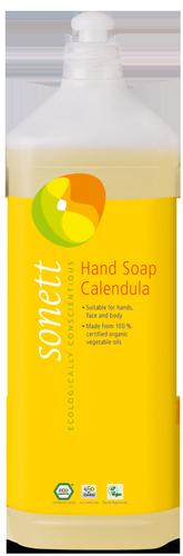 SONETT Tekuté mýdlo na ruce Měsíček Objem 1000 ml, plast.obal