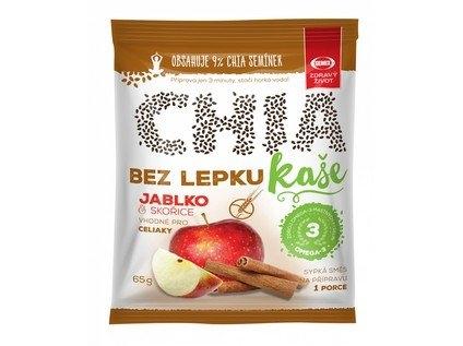 SEMIX Chia kaše bez lepku jablko skořice Objem 65 g