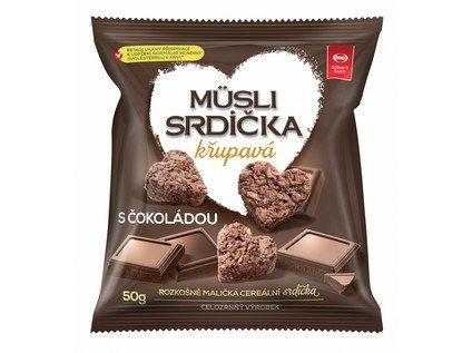 SEMIX Musli srdíčka křupavá s čokoládou Objem 50 g