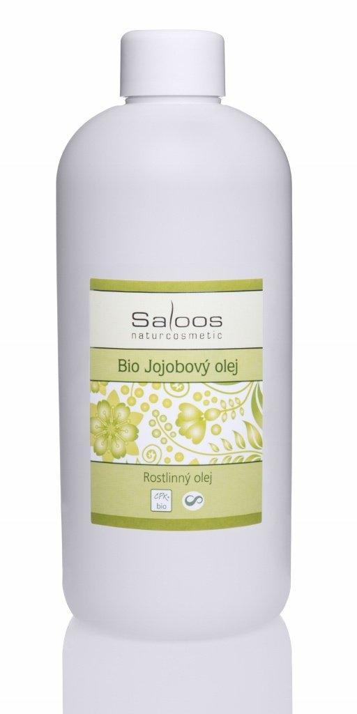 SALOOS Jojobový olej lisovaný za studena Objem 500 ml, plast.obal