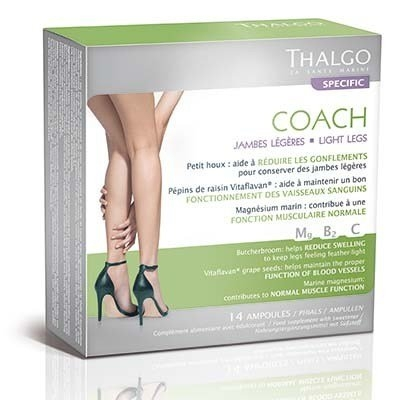 THALGO Potravinový doplněk pro lehké nohy Coach Legs Objem 14 x 10 ml
