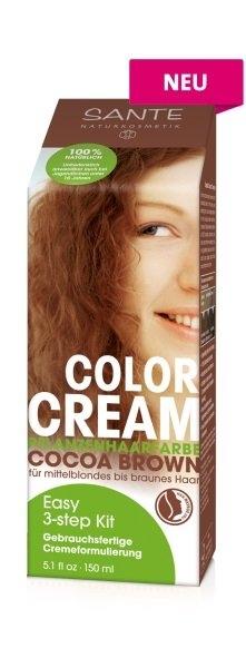 SANTE Rostlinná krémová barva Kakaově hnědá Objem 100 g