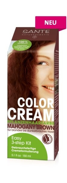SANTE Rostlinná krémová barva Hnědý mahagon Objem 100 g