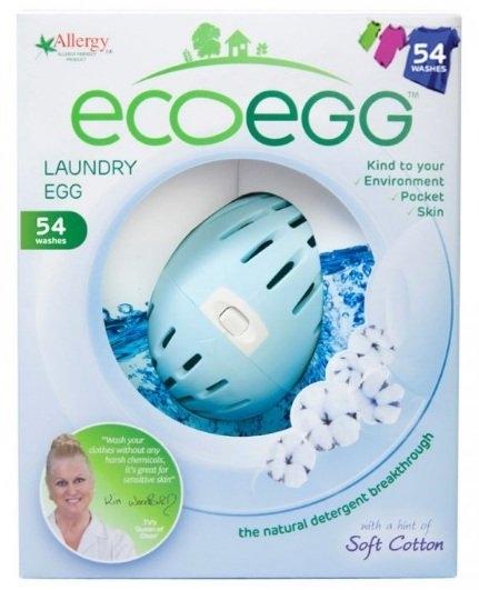 ECOEGG Vajíčko na praní s vůní Svěží bavlna Objem 54 praní