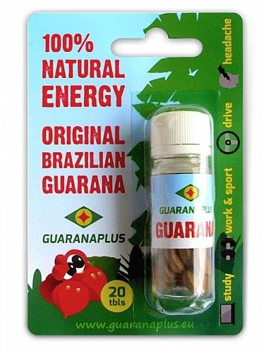 GUARANAPLUS Guarana Bylinné kapsle 20 tablet