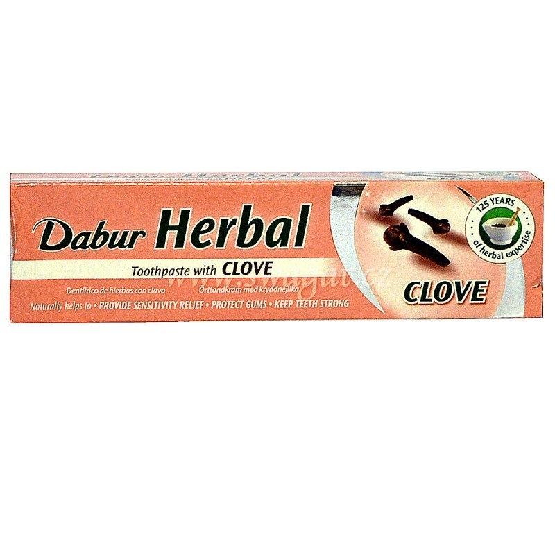 DABUR Ajurvédská zubní pasta s Hřebíčkem Objem 100ml / 155 g