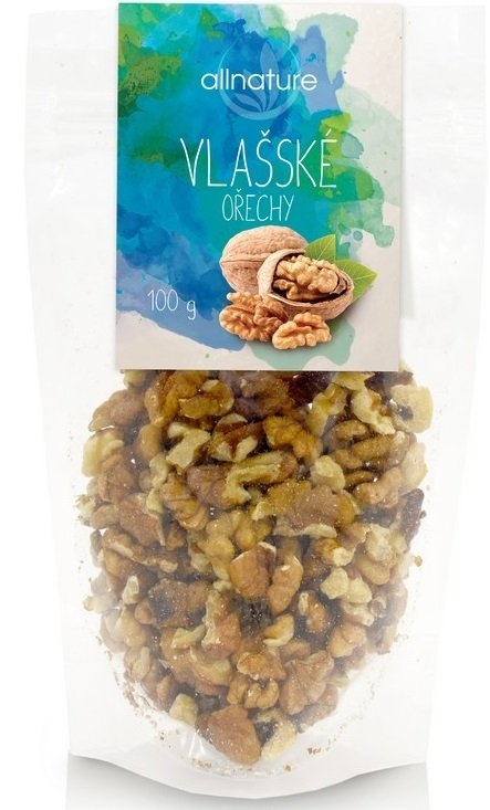 ALLNATURE Vlašské ořechy Objem 100 g
