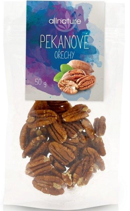 ALLNATURE Pekanové ořechy Objem 50 g
