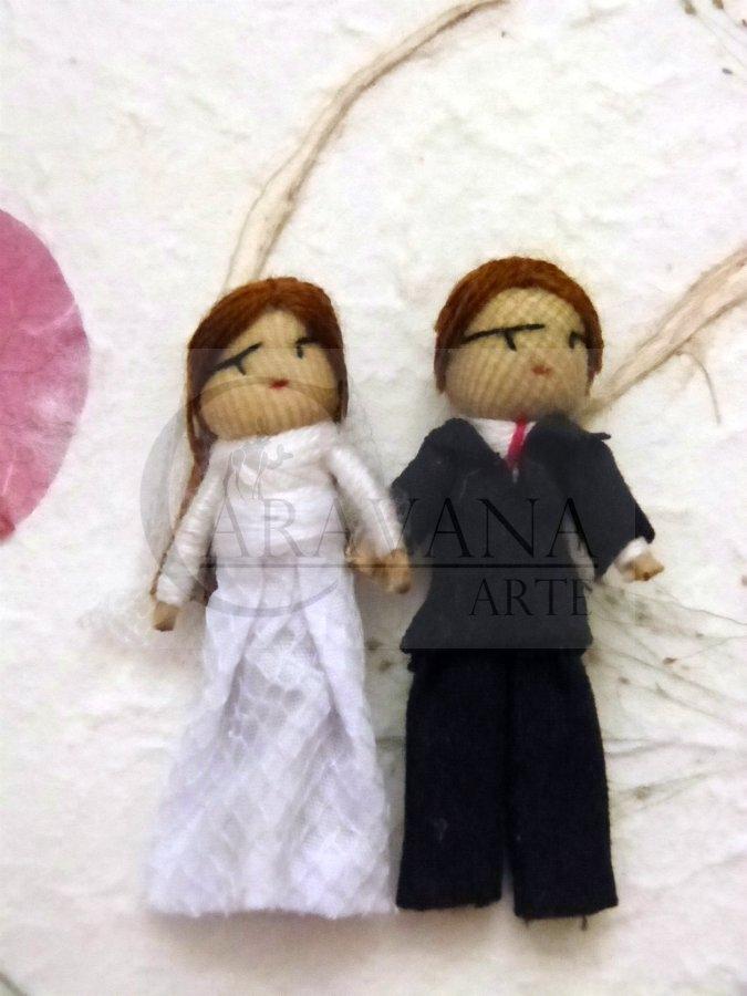 TROPICAL NATURALS Svatební panenky pro štěstí- pár Objem 1 ks