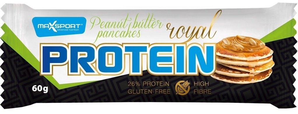 MAXSPORT Royal protein delight Peanut butter pancakess Objem 60 g