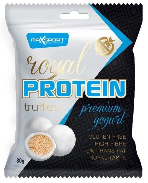 MAXSPORT Royal protein truffles premium jogurt Objem 80 g
