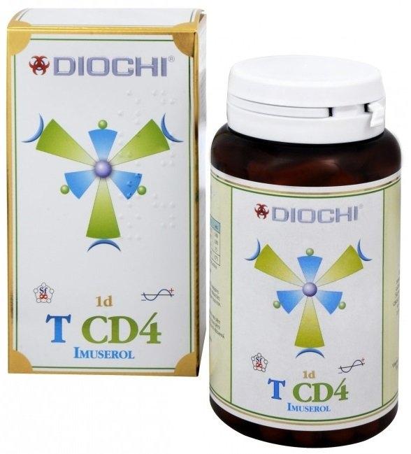 DIOCHI T CD4 Imuserol Bylinné kapsle 80 kapslí
