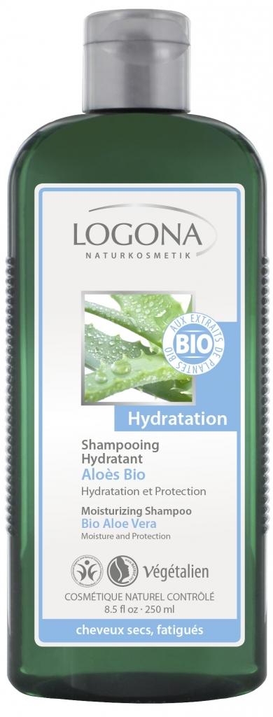 LOGONA Šampon na vlasy BIO ALOE VERA Objem 250 ml