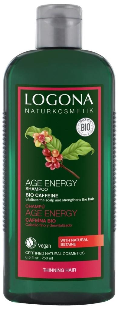 LOGONA Šampon na vlasy AGE ENERGY Objem 250 ml