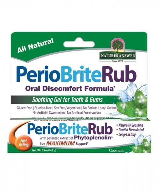 NATURE´S ANSWER Holistický bylinný gel na zuby a dásně Objem 14,2 g