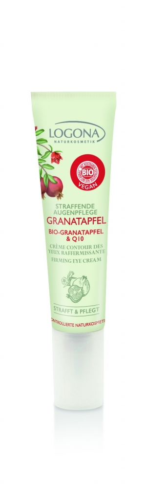 LOGONA Zpevňující Oční krém Bio Granátové jablko & Q10 Objem 15 ml