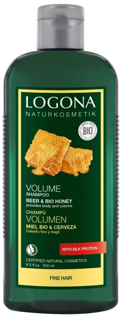 LOGONA Šampon pro zvětšení objemu vlasù Pivo-Med Objem 250 ml