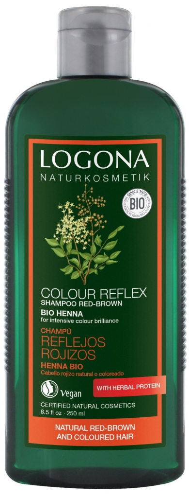 LOGONA Šampon Henna Objem 250 ml