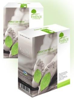 Detoxikační náplasti FOREST SAP PATCH Objem 1 balení 14 ks