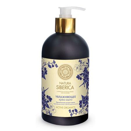 NATURA SIBERICA Krémové mýdlo Zvlhčující Objem 500 ml