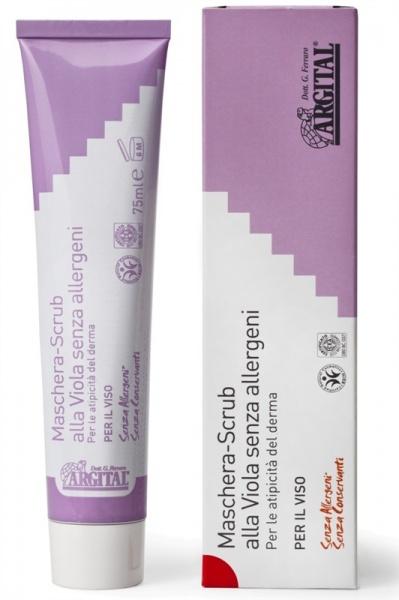 ARGITAL Hypoalergenní scrub a pleťová maska s violkou Objem 75 ml