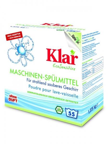KLAR Prášek do myčky Objem 1,375 g