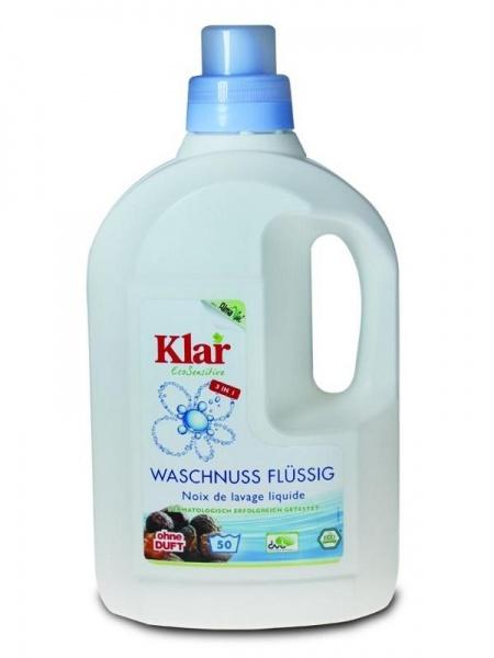 KLAR Tekuté mýdlové ořechy na praní Objem 1,5 l