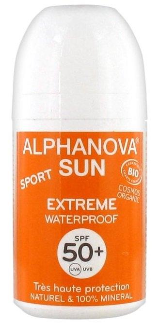 ALPHANOVA MONTBRUN Opalovací krém ROLL ON SPF 50+