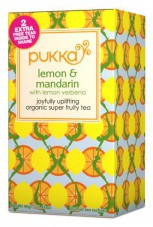PUKKA Ajurvedský čaj Mandarinka a citron (Lemon and Mandarin)