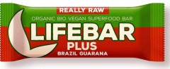 LIFEFOOD Lifebar Plus Guarana a Brazil BIO