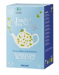 ENGLISH TEA SHOP Darjeeling Černý čaj 20 x 2 g