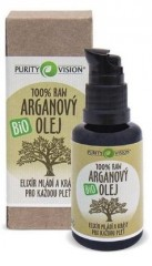 PURITY VISION RAW Arganový olej BIO 30 ml