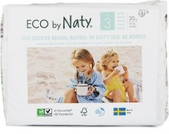 ECO BY NATY Plenky Naty Midi 4-9 kg (30 ks)
