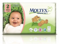 MOLTEX Plenky nature no.1 Mini 3-6 kg (42 ks)