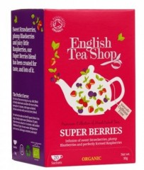 ENGLISH TEA SHOP Super ovocný čaj 20 x 2 g