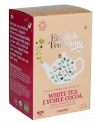 ENGLISH TEA SHOP Bílý čaj s Lychee 20 x 1,5 g